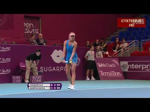 Maria Sharapova VS Daniela Hantuchova Highlight 2014 R2
