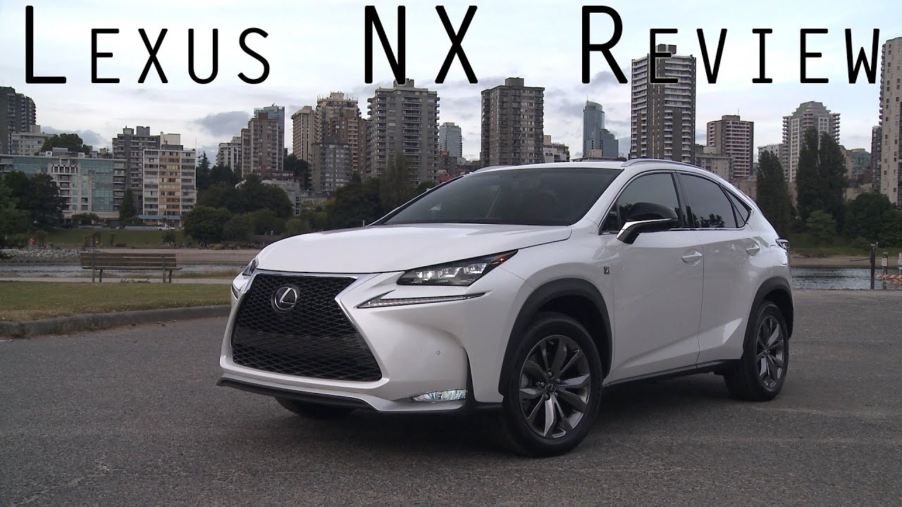 2015 Lexus NX - The First Original Turbo by Toyota in ...