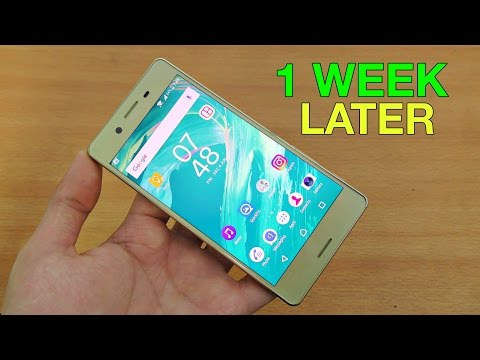 Sony Xperia X - 1 Week Later Review! Is it worth buying?! (4K)