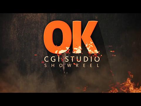 OK CGI STUDIO Showreel 2016