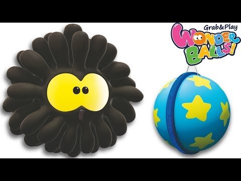 Circus Adventures With Squishy Balls   Funny Wonderballs Jumping and Playing Around   Kids Shows