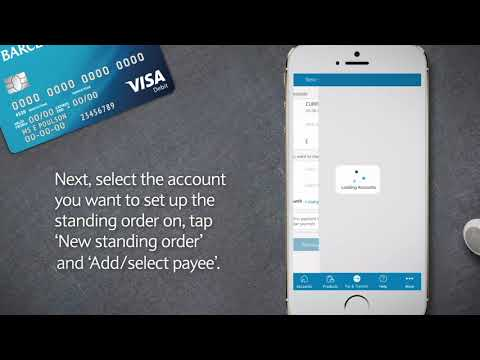 How To Manage Standing Orders With The Barclays App