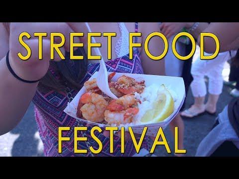 STREET FOOD FESTIVAL | FOOD VLOG | SEATTLE, WA