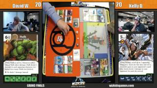WizKids 2015 Dice Masters National Championship GRAND FINALS - David W. vs Kelly D.