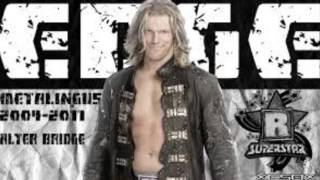 WWE Edge Official Entrance Theme Song  Metalingus By Alter Bridge Instrumental