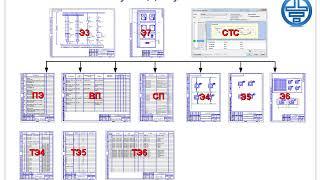 Урок 8: Рекомендуемая последовательность выпуска документации компас-электрик.