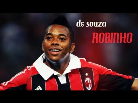 Robinho - Best moments with AC Milan
