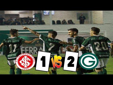 Internacional 1 x 2 Goiás - Melhores Momentos HD   Brasileirão 27/11/2019