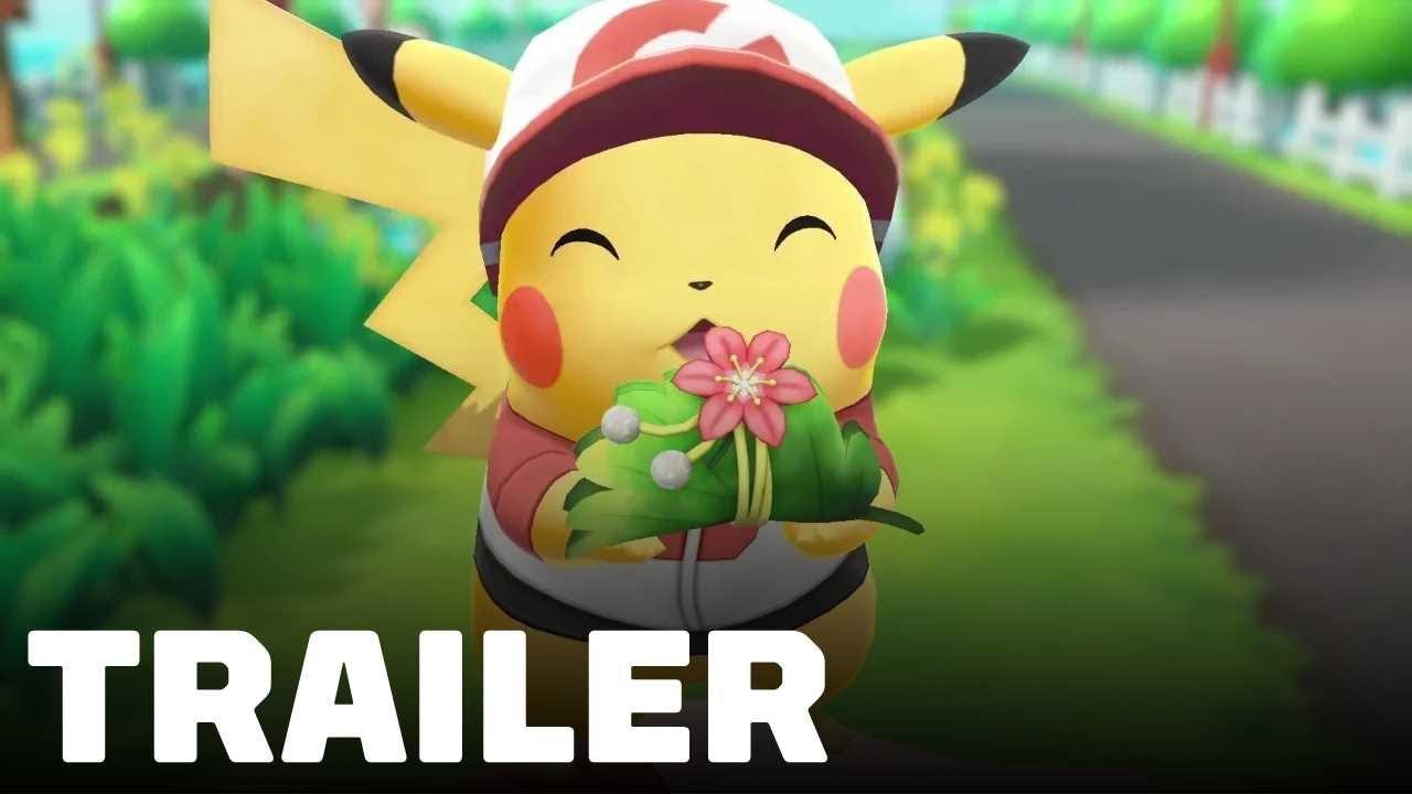 Pokémon Let's Go Pikachu / Eevee - Overview Trailer