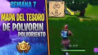 UNDERWATER TREASURE MAP UNDERGROUND WEEK 7 SEASON 5 MYSTERIOUS FORTNITE SKIN