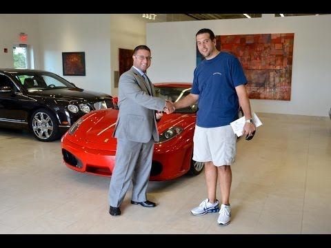 Ryan Taking Delivery of his Ferrari 430 - Dimmitt Automotive Group