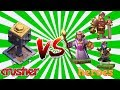 heroes vs crusher | private server gaming | clash of clans | gaming WitH RoY
