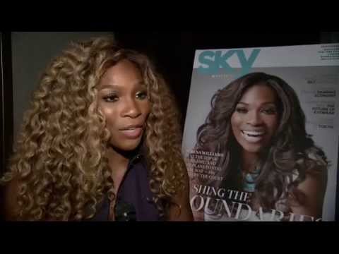Serena Williams singing Diamonds are a Girl's Best Friend