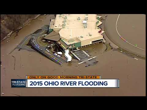 How does 2018 Ohio River flooding compare to past floods?