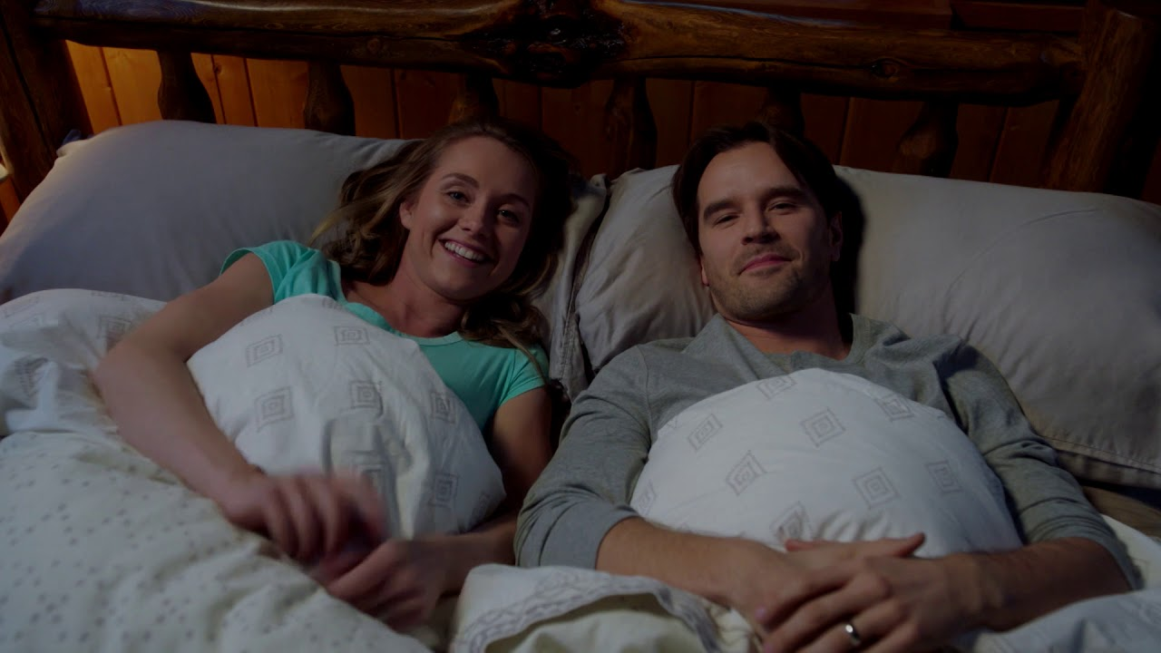 Happy New Year from Heartland's Amber Marshall and Graham Wardle