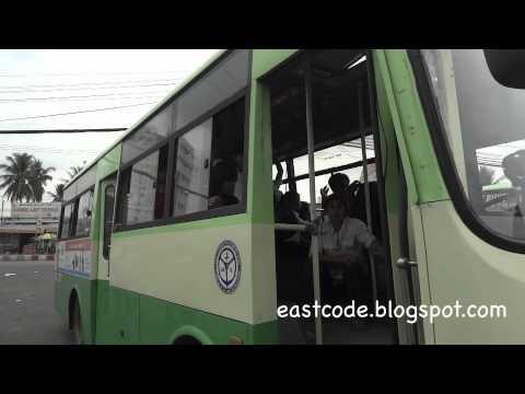 Ben xe Tra men bus station Soc Trang province Vietnam