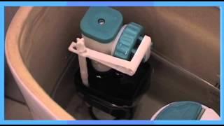 Praxis laat zien hoe je een toilet vlotter kunt vervangen