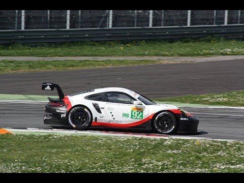 2017 Porsche 911 Rsr Middle Engine Pure Sound At Monza Wec Prologue