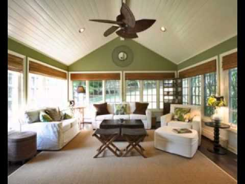 sunroom home design decor ideas - youtube
