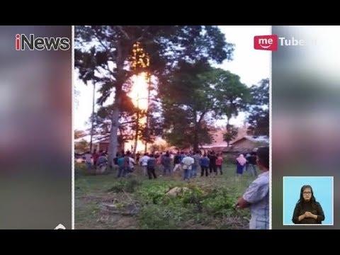 [Video Amatir] Sumur Minyak di Aceh Tmur Terbakar - iNews Siang 25/04
