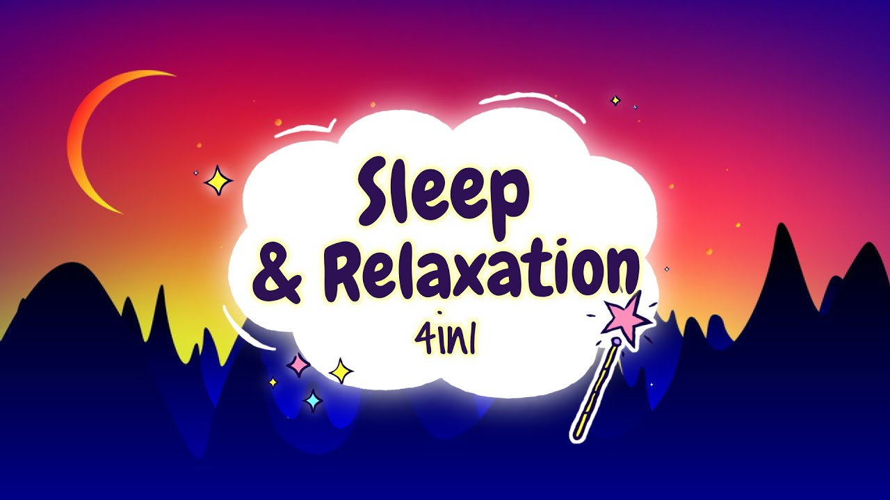 Sleep Meditation for Kids | SLEEP & RELAXATION 4in1 | Sleep Story for Children