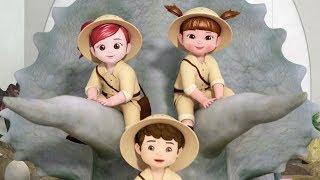 Kongsuni and Friends | The Dinosaur Song Music Video | Songs for Children