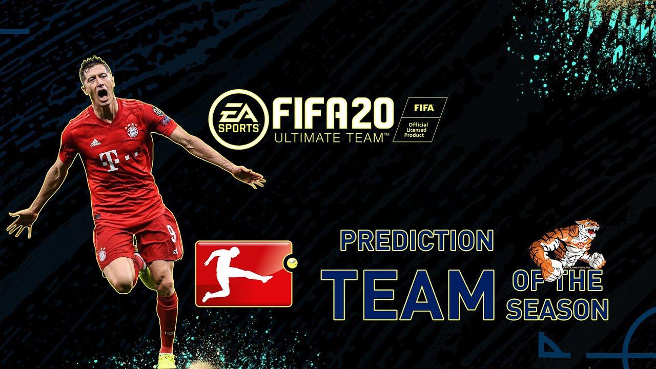 FIFA 20: Predictions #TOTSSF Bundesliga - Team Of The Season #TOTS