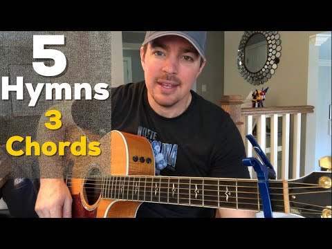 5 Old Hymns Played With 3 Easy Chords | Matt McCoy | Guitar Lesson