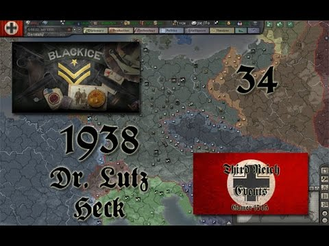 Let's Play Hearts of Iron 3: Black ICE 8 w/TRE - 034 (Germany)
