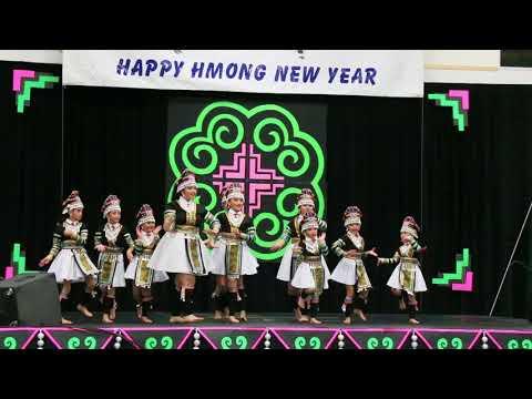 Wausau Hmong New Year 2017-2018 - Nkauj Hmoob Huab Sib