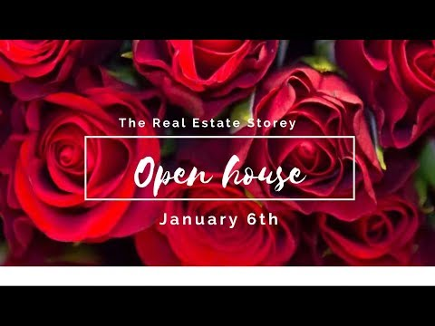 OPEN HOUSE! First Open House of The New Year- January 6th