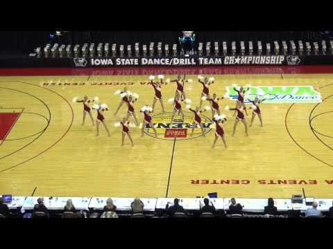 Iowa State University Dance Team 2014 STATE POM CHAMPS!