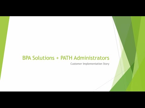 Configuring SharePoint CRM to Meet Business Objectives - BPA Client Case Study Webinar