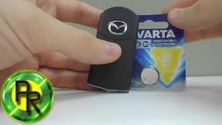 видео Замена батарейки в ключе Мазда СХ 5