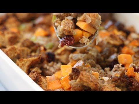 Sweet Potato Stuffing Recipe - What's For Dinner?