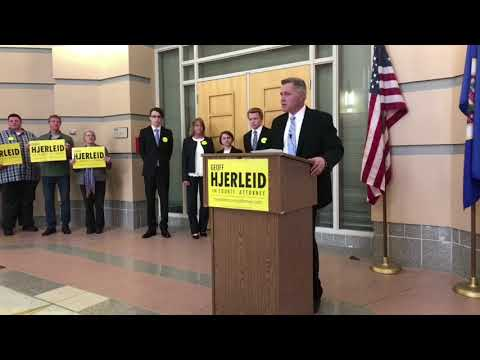Geoff Hjerleid for Olmsted County Attorney - Campaign Launch!
