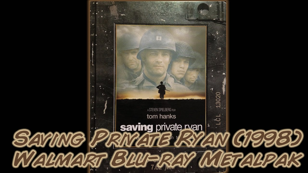 Download Saving Private Ryan (1998) Blu-ray Metalpak - Walmart Exclusive   Unboxing