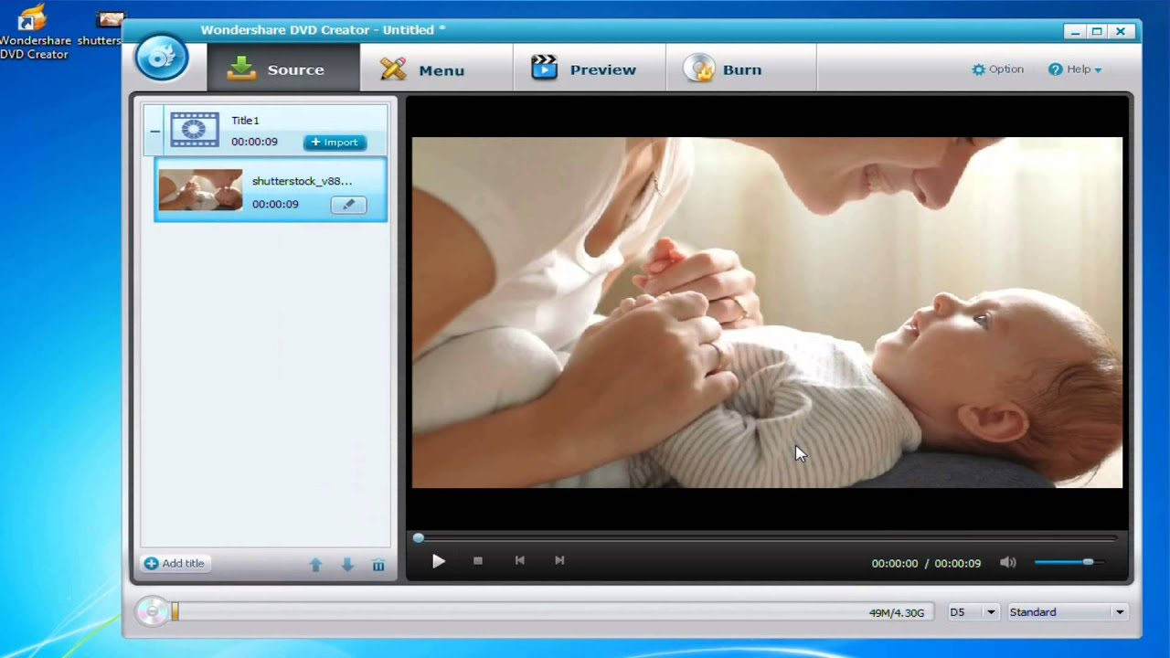 how to burn a video onto a dvd windows 8