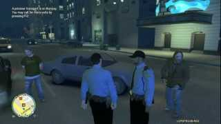 GTA IV - Danish Police Responding To A Traffic Collision