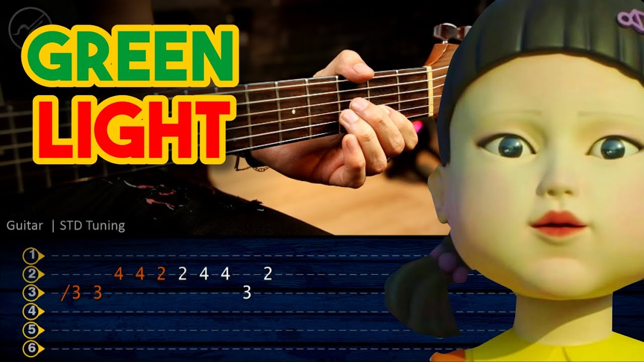 Download Jugaremos Muévete Luz Verde - Squid Game OST - Red Light, Green Light   Guitarra  Cover Chirstianvib