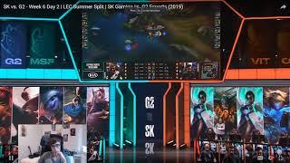 Vedius VOD Review - LEC Week 6 G2 vs SK