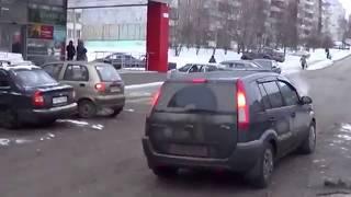 Воронеж!!!Подборка №67 Когда дамы за рулём!!!