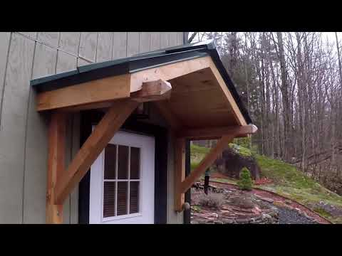 Home Made Roof Over Door
