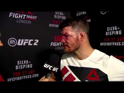 Fight Night London: Michael Bisping Backstage Interview