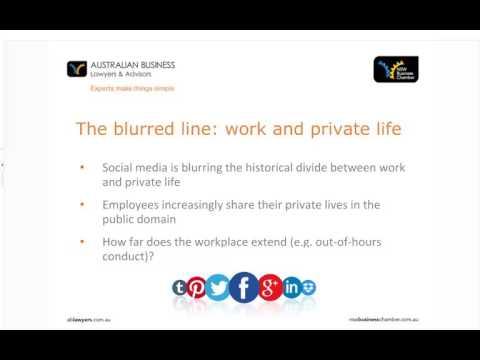 Webinar: Social media in the workplace