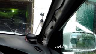 Замена лобового стекла(Видео о том как самому переклеить лобовое (ветровое) стекло современного автомобиля. В качестве современно..., 2014-06-26T17:00:54.000Z)