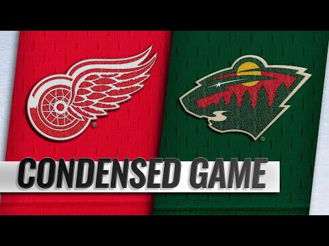 01/12/19 Condensed Game: Red Wings @ Wild