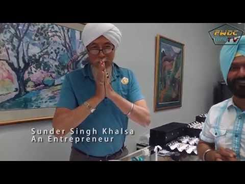 Sikh Chinese American Businessman