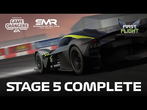 First Flight Stage 5 – Aston Martin Valkyrie 0 Upgrades Real Racing 3