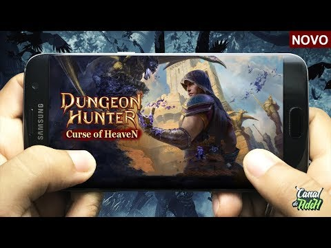 SAIUU! NOVO DUNGEON HUNTER 6, OFFLINE PARA ANDROID - Dungeon Hunter Curse Of Heaven